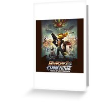 Ratchet and Clank tools of destruction Greeting Card