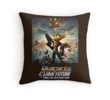 Ratchet and Clank tools of destruction Throw Pillow