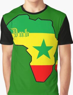 DUB : Jamaican Music Graphic T-Shirt