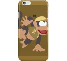 Diddy Kong (Brown) - Super Smash Bros. iPhone Case/Skin