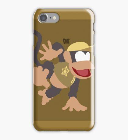 Diddy Kong (Brown) - Super Smash Bros. iPhone Case/Skin