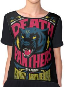 Death Panther Chiffon Top