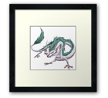 Dragon Haku  Framed Print