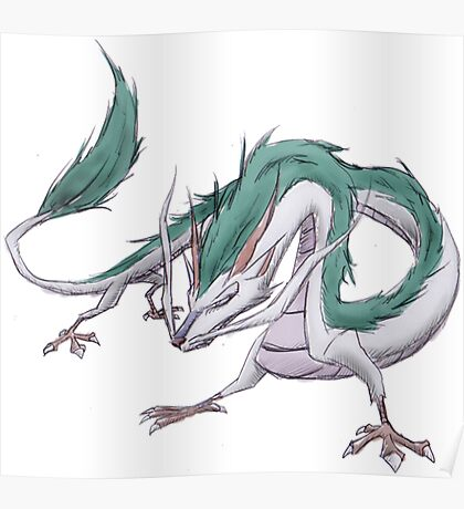 Dragon Haku  Poster