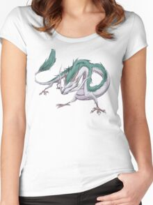 Dragon Haku  Women's Fitted Scoop T-Shirt
