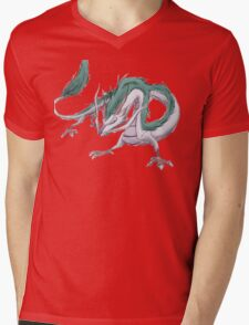 Dragon Haku  Mens V-Neck T-Shirt