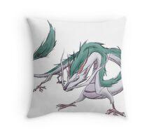 Dragon Haku  Throw Pillow