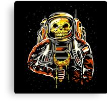 Death at the Space Canvas Print