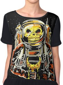 Death at the Space Chiffon Top