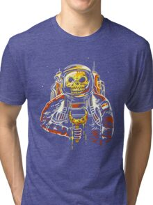 Death at the Space Tri-blend T-Shirt
