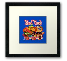 Food Truck Framed Print