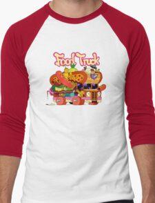 Food Truck Men's Baseball ¾ T-Shirt