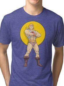 He - Man Tri-blend T-Shirt