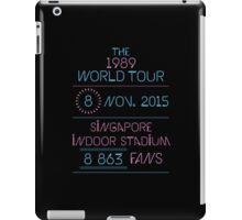 8th november - Singapore Indoor Stadium iPad Case/Skin