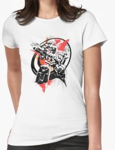 Prime Stencil Womens Fitted T-Shirt