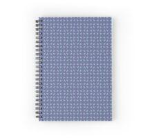 Arrowhead Pattern I - Purple Spiral Notebook