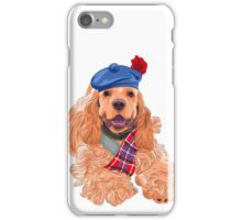 American Cocker Spaniel  iPhone Case/Skin