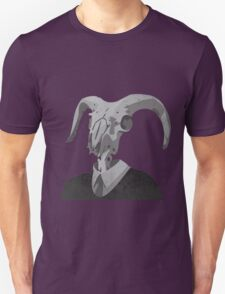 Skull in a Suit Unisex T-Shirt