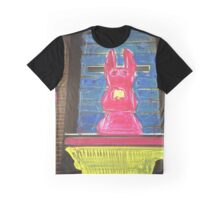 bunny building two Graphic T-Shirt
