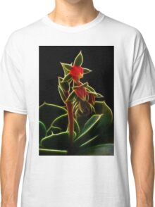Wild Fractal Buds Of Chaos Classic T-Shirt