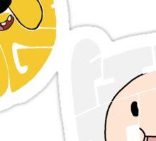 Finn and Jake Sticker