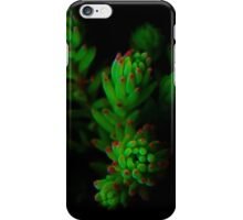 Fractal Green Ghosts iPhone Case/Skin
