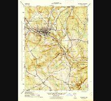 USGS TOPO Map Connecticut CT Willimantic 461118 1945 31680 Unisex T-Shirt