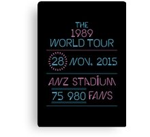 28th november - Anz Stadium Canvas Print