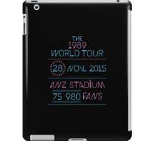 28th november - Anz Stadium iPad Case/Skin
