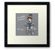 English Cocker Spaniel Framed Print