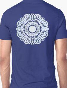 White Lotus Symbol Unisex T-Shirt