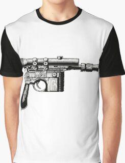 Han Solo's Blaster Stencil Graphic T-Shirt