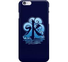 Water Tribe Symbol V3 Transparent iPhone Case/Skin