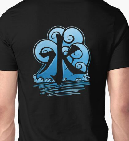Water Tribe Symbol V3 Transparent Unisex T-Shirt