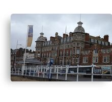 Royal Hotel in Weymouth, SW England Canvas Print