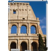 Rome - View of the Colosseum  iPad Case/Skin