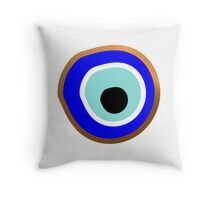 Evil Eye protection Throw Pillow