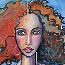 Curly face by Robyn Bradshaw