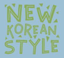 NEW KOREAN STYLE One Piece - Short Sleeve