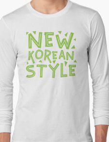 NEW KOREAN STYLE Long Sleeve T-Shirt