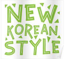 NEW KOREAN STYLE Poster