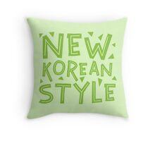 NEW KOREAN STYLE Throw Pillow