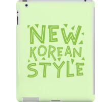 NEW KOREAN STYLE iPad Case/Skin