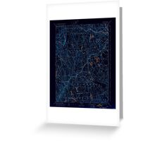 USGS TOPO Map Connecticut CT Gilead 331030 1892 62500 Inverted Greeting Card