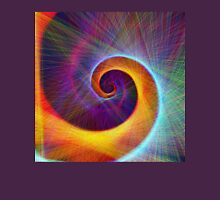 Fibonacci spiral, linify Unisex T-Shirt