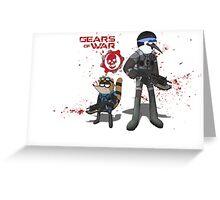 Gears of War Greeting Card