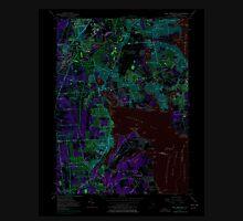USGS TOPO Map Rhode Island RI East Greenwich 353283 1957 24000 Inverted T-Shirt