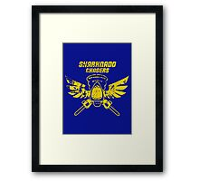 Sharknado Chasers Framed Print