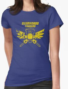 Sharknado Chasers Womens Fitted T-Shirt