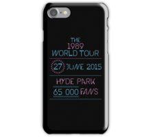 27th June - Hyde Park iPhone Case/Skin